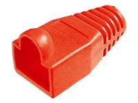 Bild von ASSMANN Knickschutztülle für 8P8C Modular-Stecker Farbe Rot