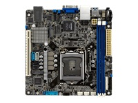 Bild von ASUS P11C-I/NGFF2280 Intel Xeon E mini-ITX server motherboard with rack-optimized design and dual networking