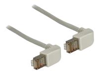 Bild von DELOCK Kabel RJ45 C5e SFTP gewinkelt/gewinkelt 0,5m