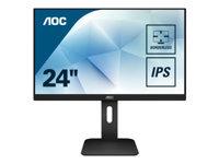 Bild von AOC 24P1 60,96cm 23,8Zoll IPS Full-HD 1920x1080 VGA DVI HDMI Displplay Port USB 3.0 Speaker Höhenverstellbar drehbar neigbar