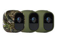 Bild von ARLO Pro/Pro2 Silikonbezüge 3er Pack 2x Grün 1x Karmouflage geeignet für Arlo Go kabellose Kameras