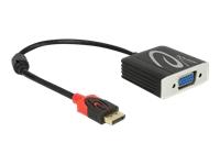 Bild von DELOCK Adapter Displayport 1.2 Stecker > VGA Buchse schwarz