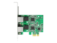 Bild von DELOCK PCI Express x1 Karte auf 2 x 2,5 Gigabit LAN