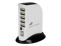 Bild von ROLINE USB 2.0 Hub 7Port mit ext. Netzteil