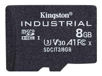 Bild von KINGSTON 8GB microSDHC Industrial C10 A1 pSLC Card Single Pack w/o Adapter