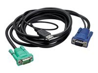 Bild von APC INTEGRATED LCD KVM USB CABLE - 12 ft (3m)