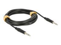 Bild von DELOCK Kabel Klinke 6,35 mm 2 Pin Stecker > Stecker 6 m