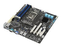 Bild von ASUS P10S-M LGA1151 Intel C232 4xDDR4 2133 ECC/non-ECC UDIMM 6xSATA 6Gb/s ports with 2xM.2 ATX