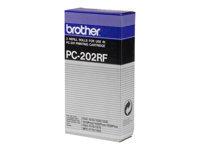 Bild von BROTHER PC-202RF Trommeleinheit schwarz 420 Seiten refill 2er-Pack