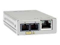 Bild von ALLIED Mini Media Converter 10/100TX to 100X/SC Single Mode