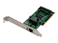 Bild von DIGITUS Gigabit PCI Karte 10/100/1000Mbit 32-bit Gigabit Network Adaptor Realtek 8169SC Chipsatz inkl. Low Profile Bracket