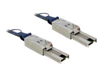 Bild von DELOCK Kabel mini SAS 26 Pin SFF-8088 > mini SAS 26 Pin SFF-8088 2 m