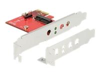 Bild von DELOCK PCI Express Karte > 1 x intern M.2 Key E - Low Profile Formfaktor