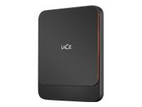 Bild von LACIE Portable SSD USB-C 1TB externe tragbare Festplatte mit Rescue Service Tuxedo Black
