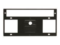 Bild von KRAMER T10F-33 - TBUS-10XL Inner Frame fuer 3 Steckdosen oder 1 Steckdose + Raumsteuerung mit 2 BlinDPlatte und 1 Kabeldurchfuehrung