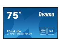 Bild von IIYAMA ProLite LH7510USHB-B1 190CM 75Zoll 3840x2160