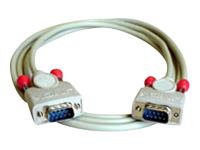 Bild von LINDY 9 pol. RS232 1:1 Kabel mit 9 pol. Sub-D Stecker an 9 pol. Sub-D Stecker, 2m