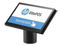 Bild von HP ElitePOS G1 Weiss 35,56cm 14Zoll FHD Intel i3-7100U 4GB/DDR4 128GB/SSD Rot/Tilt Stand Adv.I/O Con. Base MSR Wlan W10IoT64 (DE)