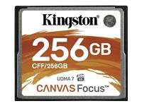 Bild von KINGSTON 256GB CompactFlash Canvas Focus up to 150R/130W UDMA7 VPG-65