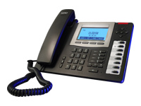 AGFEO T 19 SIP schwarz IP Telefon