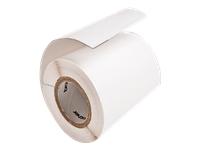 Bild von BROTHER Papier-Etiketten, weiss (450 St/Rolle)