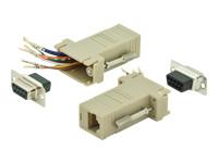 Bild von ASSMANN Adapter DB9 RJ45 Modular DB9 F RJ45 F