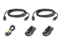 Bild von ATEN 2L-7D03UDPX5 USB DisplayPort Dual Display Sicheres KVM Kabel Set