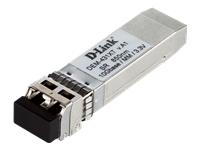Bild von D-LINK DEM-431XT 10GE SFP+ SR Transceiver 850nm Multi-Mode Duplex LC Connector 80m mit OM 1+2 300m mit OM3