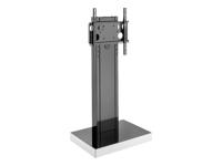 Bild von HAGOR Info-Tower Single Standsaeule fuer Displays von 81-140 cm inklusive TV Aufnahme PLW 50 Schwarz