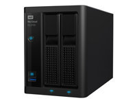 Bild von WD My Cloud Pro PR2100 4TB 2Bay NAS 2xHDD 1,6GHz QuadCore processor 4Gb RAM RAID 0 1 JBOD 2xUSB3.0 External RTL