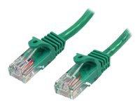 Bild von STARTECH.COM 0,5m Cat5e Ethernet Netzwerkkabel Snagless mit RJ45 - Cat 5e UTP Kabel - Grün