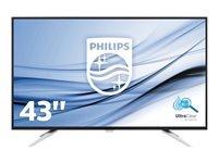 Bild von PHILIPS BDM4350UC/00 108cm 42,5Zoll TFT 4k UHD 3840 x 2160 IPS 16:9 300cd/m2 5ms 50M:1 USB HDMI schwarz