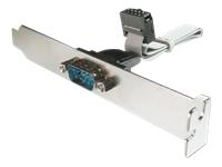 Bild von ASSMANN Slotblech Seriell D-Sub9 Stecker 0,25m 2x5Pin bulk