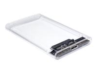 Bild von INTER-TECH GD-25000 USB 3.0 HDD-Gehaeuse fuer 6,35cm 2,5Zoll Festplatten mit einer Hoehe von bis zu 9,5mm S-ATA I II III max 16TB