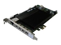 Bild von FUJITSU CELSIUS RemoteAccess Quad Karte Host fuer PCoIP 2xDVI-I 10/100/1000 Mbps LAN PCIe x1