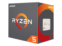 Bild von AMD Ryzen 5 1600X 3,7GHz CPU 6 Core / 12 Threads 19MB Socket AM4 Boxed