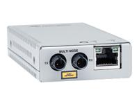 Bild von ALLIED TAA 10/100TX to 100FX/ST MM Media & Rate Converter Multi-region PSU