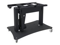 Bild von IIYAMA Tip & Touch elektr. Standfuss Höhenverstellung 660-1320mm mit Face Up Funktion passend für TFxx37-Reihe