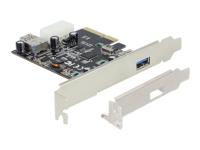 Bild von DELOCK PCIe x4 SuperSpeed USB 10 Gbps (USB 3.1 Gen 2) 1+1 Port inkl. LP ASmedia
