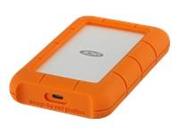 Bild von LACIE RUGGED 4TB USB-C USB3.0 Drop- crush- and rain-resistant for all-terrain use orange