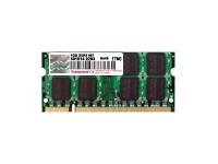 Bild von TRANSCEND 1GB DDR2 667MHz soDIMM Industrie