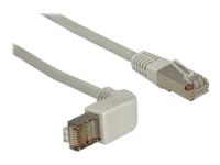 Bild von DELOCK Kabel RJ45 C5e SFTP gewinkelt/gerade 0,5m