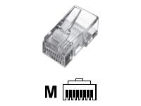Bild von ASSMANN Modular Stecker für Rundkabel 8P8C ungeschirmt