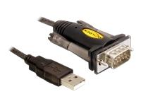 Bild von DELOCK Adapter USB Seriell 1x9 Pin St blau 1,5m