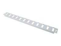 Bild von DIGITUS 12x SC Duplex Frontblende für Glasfaser Spleissbox DN-96200 Farbe Grau RAL 7035