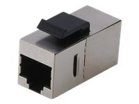 Bild von DIGITUS Modular Kupplung 2xRJ45 geschrimt zur Panel Montage geeignet Cat6