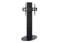 Bild von HAGOR ELIA SB Schwarz Schwerlast Standsystem fuer Displays bis 218cm 86 Zoll Traglast max 125kg VESA max 800x600 hohenverstellbar