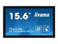 Bild von IIYAMA TF1634MC-B7X 39,6cm 15,6Zoll WIDE LCD 1920x1080 25ms IPS panel 405 cd/m2 700:1 DisplayPort HDMI VGA Open frame model