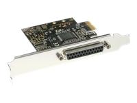Bild von INLINE Schnittstellenkarte 1x 25-pol parallel PCIe PCI-Express Moschip MCS9900CV-AA
