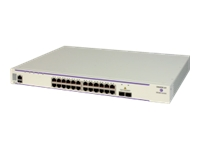 Bild von ALCATEL-LUCENT ENTERPRISE OS6450-24: Gigabit Ethernet chassis in a 1U form factor with 24 10/100/1000 BaseT ports, 2 fixed SFP+
